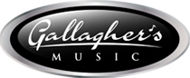 logo gallaghers music